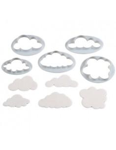 Set 5 cortadores nubes