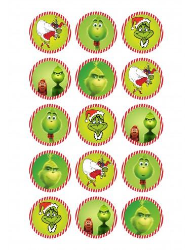 Papel de azúcar el Grinch