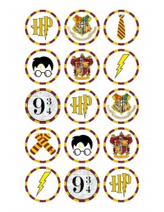 Papel de azúcar Harry Potter