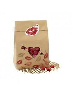 Bolsas Kraft San Valentín