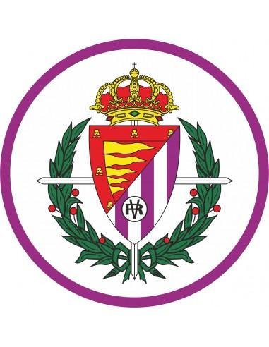 Papel de azúcar escudo Real Valladolid