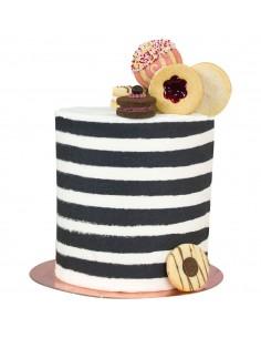 Marcador rayas extra alto para tartas