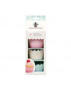 Capsulas variadas cupcakes color pastel