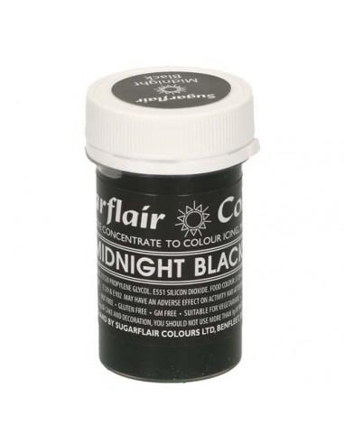 Colorante en Pasta negro medianoche Sugarflair