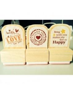Set 3 sellos love