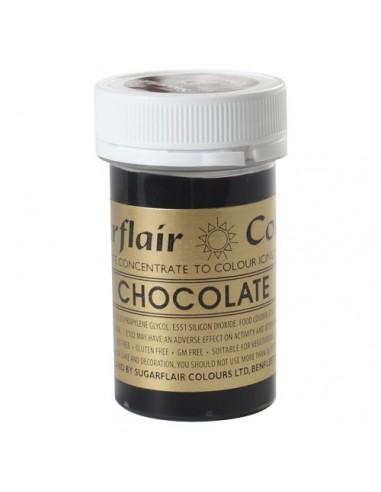 Colorante en Pasta chocolate Sugarflair