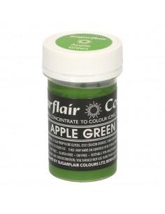 Colorante en Pasta verde manzana Sugarflair