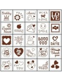 Set 25 sellos mini detalles