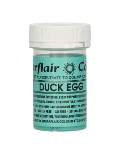 Colorante en Pasta azul duck egg Sugarflair