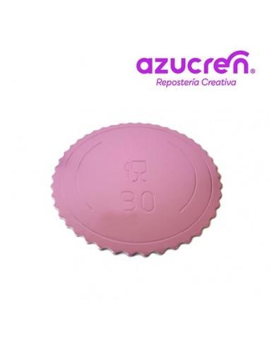 Base Tarta fina rosa 30 cm