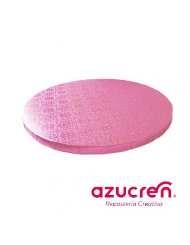 Base Tarta Redonda Rosa 20 cm