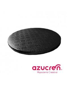 Base Tarta Redonda Negra 20 cm