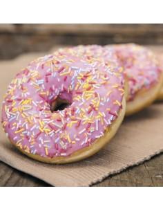 Glaseado para donuts rosa