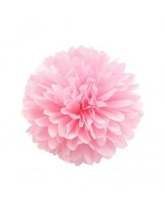 Flor de papel de color rosa