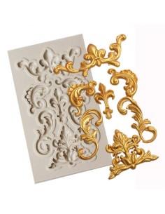 molde silicona barroco pequeño