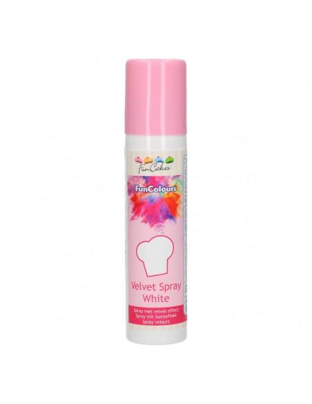 Spray Terciopelo blanco
