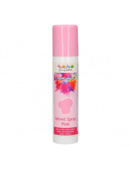 Spray Terciopelo rosa