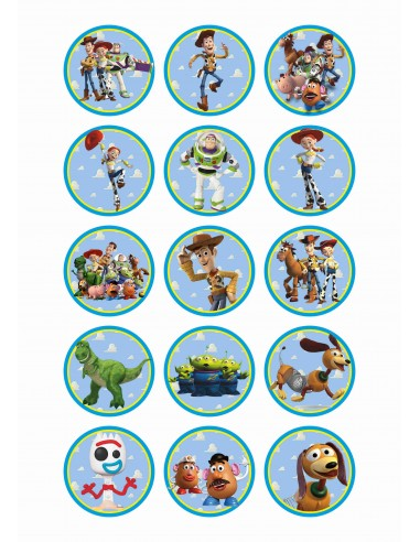 Papel de azúcar Toy Story para galletas