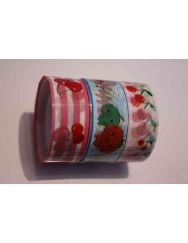 Pack 3 washi tape frutas