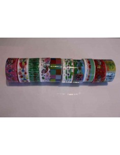 Pack 10 washi tape variados