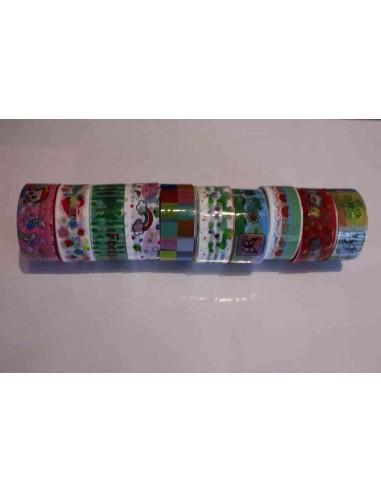 Pack 10 washi tape variados