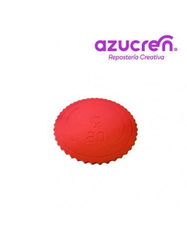 Base Tarta fina roja 20 cm