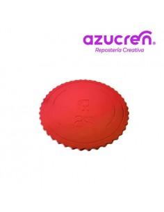 Base Tarta fina roja 25 cm