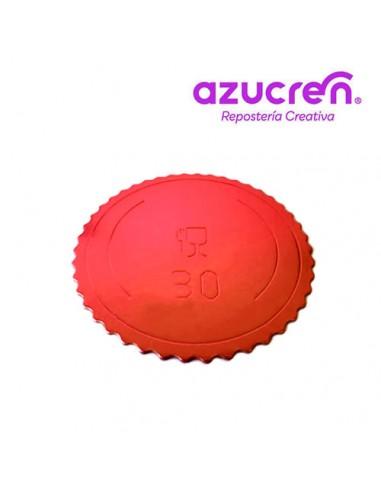 Base Tarta fina roja 30 cm