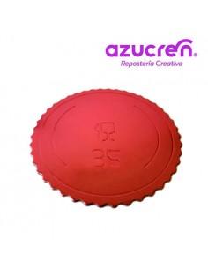 Base Tarta fina roja 35 cm