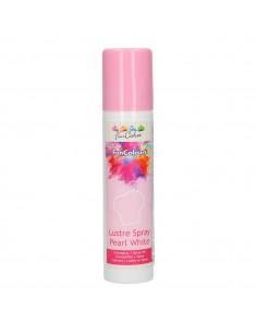 Spray Blanco perlado FunCakes