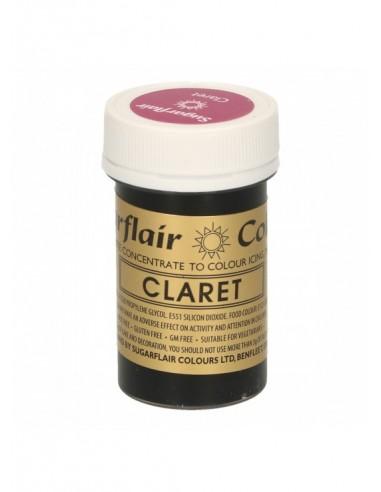 Colorante en Pasta claret Sugarflair