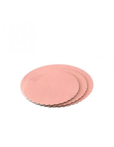 Base Tarta fina rosa bebé 20 cm