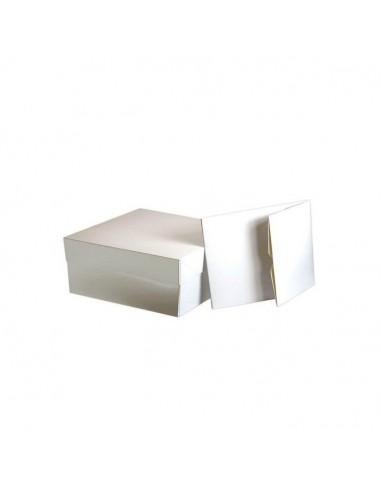 Caja rectangular para tarta