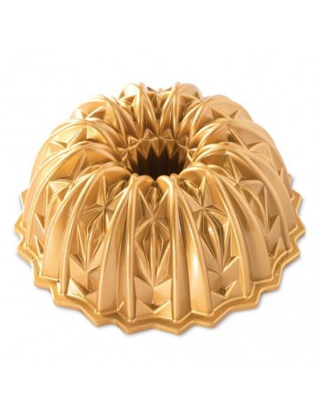 Molde Crystal Bundt Gold Nordic Ware