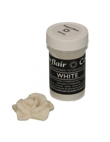 Colorante en Pasta blanco Sugarflair