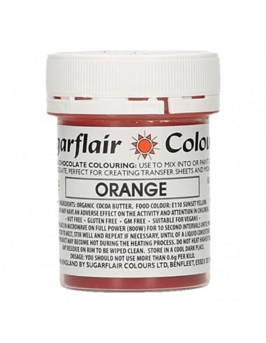 Colorante para Chocolate Naranja Sugarflair