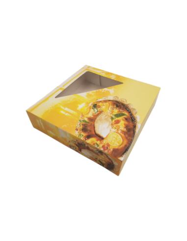 Caja para roscón 30 cm