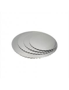 Base Tarta fina plata 25 cm