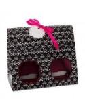 Caja para 2 Cupcakes Estampada (4uds)