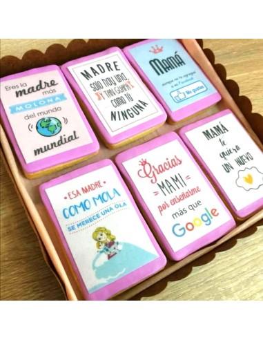 Caja galletas día de la madre