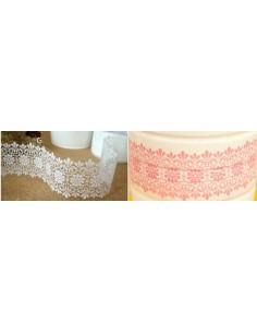 Washi tape ancho 4,8 cm color rosa mod. G