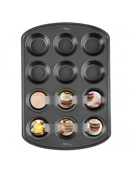 Molde para 12 cupcakes Wilton