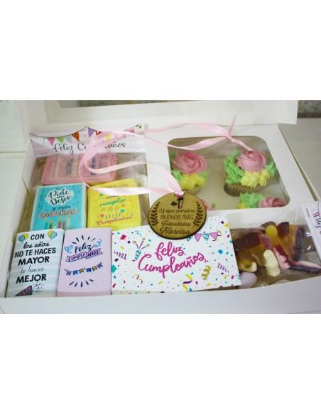 Caja regalo cumpleaños