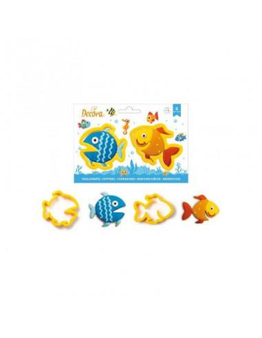 Set 2 Cortadores peces