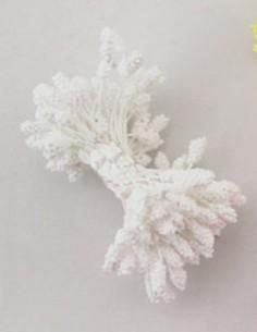 Estambres granulados 5 mm blancos
