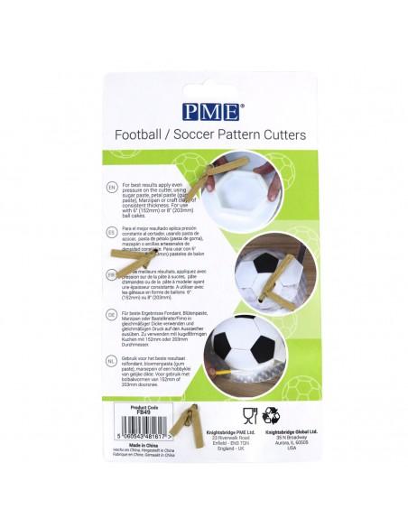 Set 4 Cortadores para balones de futbol