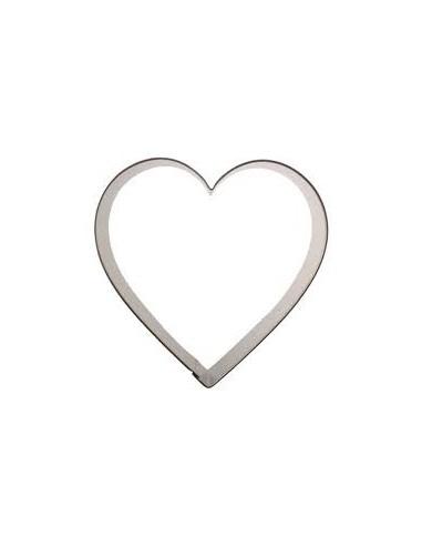 Cortador corazón 8 cm