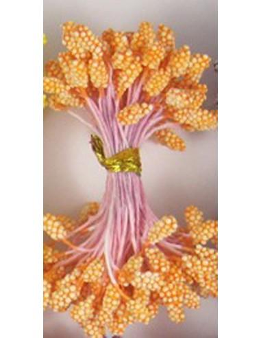 Estambres granulados 5mm naranja