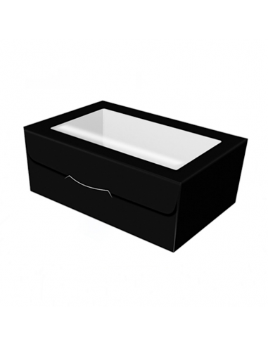 Caja para galletas negra