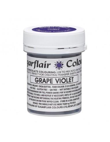 Colorante para Chocolate Violeta Sugarflair